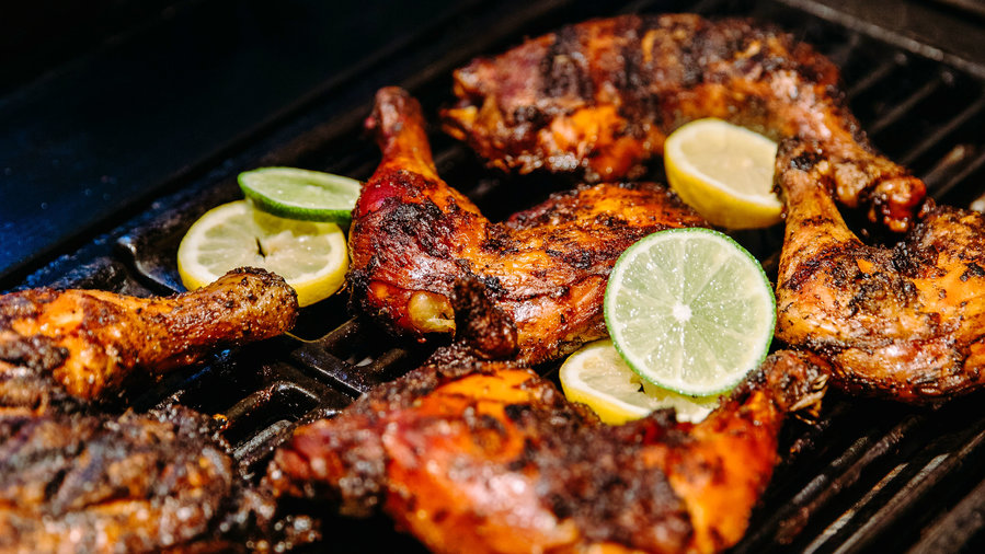 Jerk Chicken And Other Global Grilling Party Menus Sunset Magazine