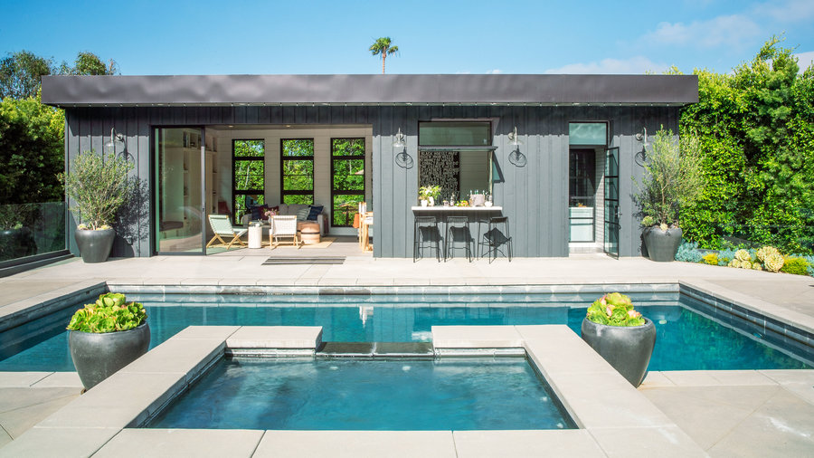 How to design a show stopping pool house sunset magazine for Pool design magazine