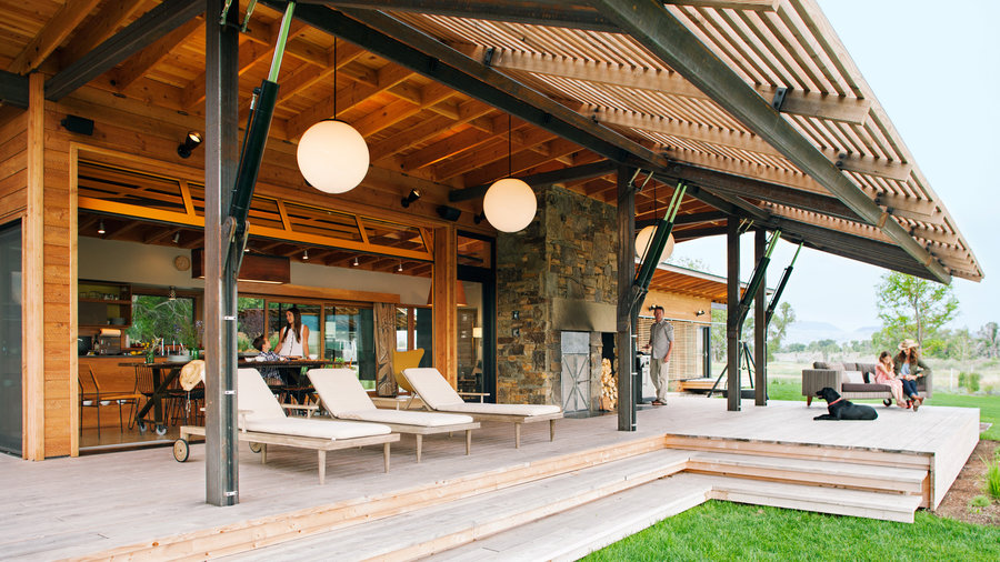 7 favorite prefab homes sunset magazine for Hawaii kit homes