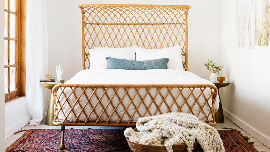 Ideas For A Headboard Part - 38: Rattan Headboard
