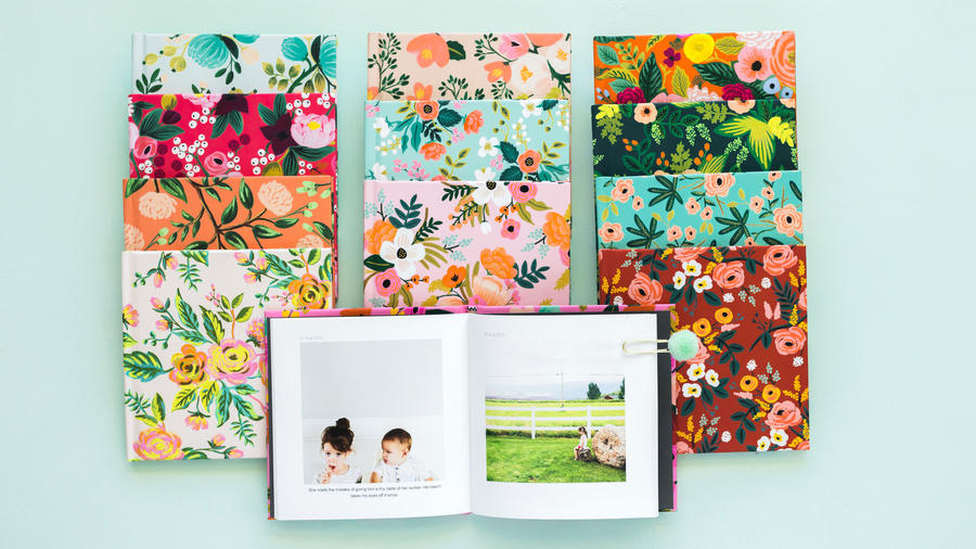 Floral Photo Books
