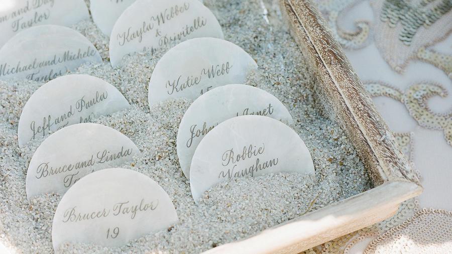 Beautiful Ideas For A Beach Theme Wedding Sunset Magazine
