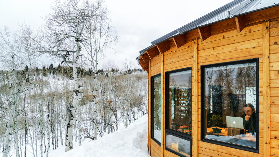 Living In An Eco Friendly Yurt House Sunset Magazine It isn't by chance that this yurt is named after one of the best national parks in alaska. eco friendly yurt house sunset magazine