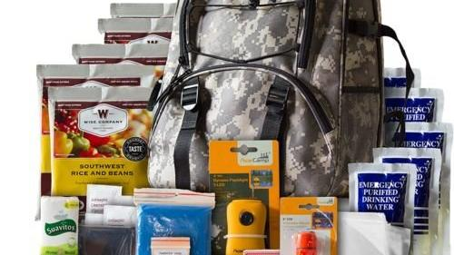 Wise Foods 5-Day Survival Backpack, $49.99