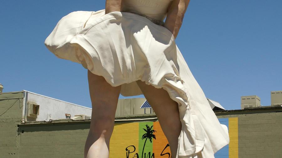 Forever Marilyn in Palm Springs