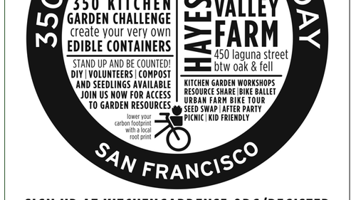 San Francisco to build 350 new kitchen gardens this Sunday