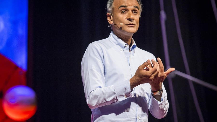 Pico Iyer at the 2013 TED Conference. (Photo by TED Conference, via Flickr.)