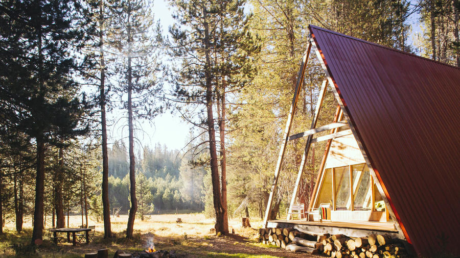 Knotty and nice: Far Meadow's Base Camp, near Yosemite. (Photo by Thomas J. Story.)