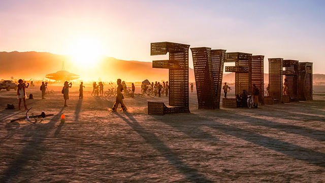 Can't make it to this year's Burning Man? We have your fix. (Photo by Mike Orso/TandemStock.)