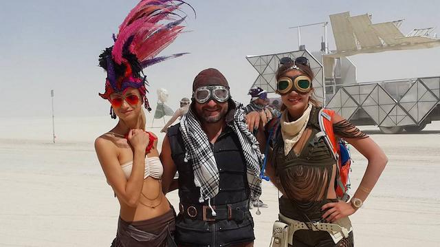 Burning Man style rules the desert