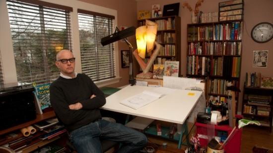 Comic artist Daniel Clowes
