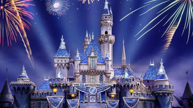 Disneyland's Sleeping Beauty Castle is set to sparkle for the park's 60th anniversary. Illustration: Disneyland Resort