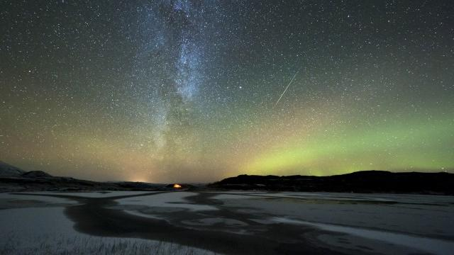 Orionid meteor shower in Norway (Tommy Eliassen / Science Photo Library via Getty Images)