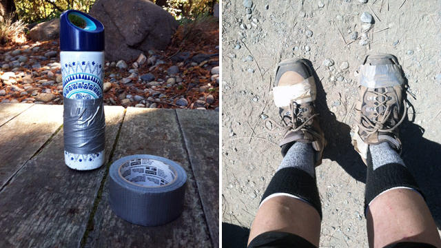 Hiking Hack: How Duct Tape Saved My Sole(s)