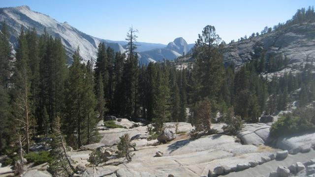 The view from Olmsted Point, one of our favorite stops along Tioga Road. (Photo by Christine Ryan)