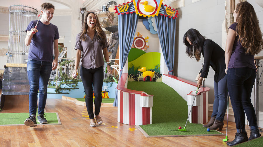 Urban Putt, in San Francisco's Mission, takes miniature golf way beyond the windmill.