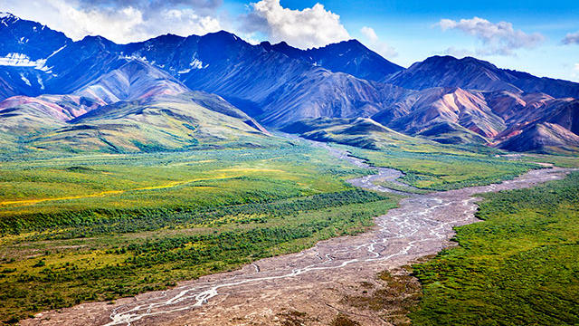Denali National Park and Preserve. (Photo by Ian Shive / Sunset Publishing.)