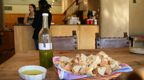 An olive oil tasting: brand new and not-so-new