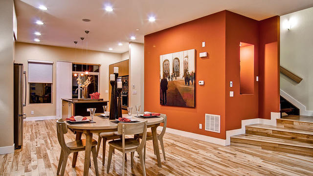 How To Choose The Paint Color You Really Want Contemporary Dining Room Original Photo On Houzz
