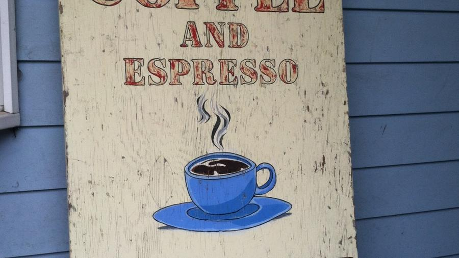 Roadhouse Coffee. Bodega Bay, CA.