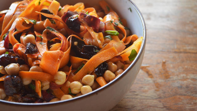 Rainbow Carrots with Smoky Paprika Vinaigrette from The Picnic