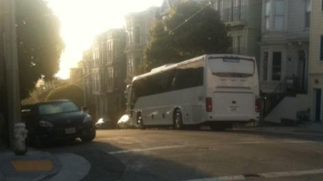What's inside the Google Bus?