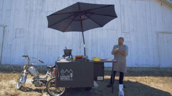 (Not) Your Run of the Mill Food Cart