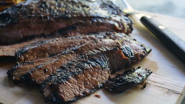 Soy and Ginger Flank Steak (Carol Shih)