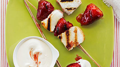 You Can Grill That? Strawberry Shortcake