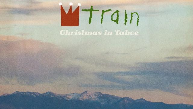 The cover of the coming Train holiday album.