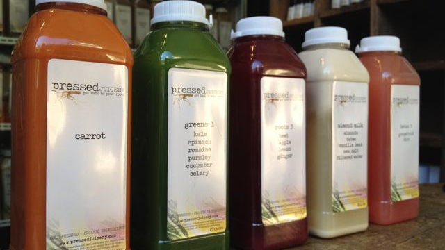 L.A.'s juice therapy