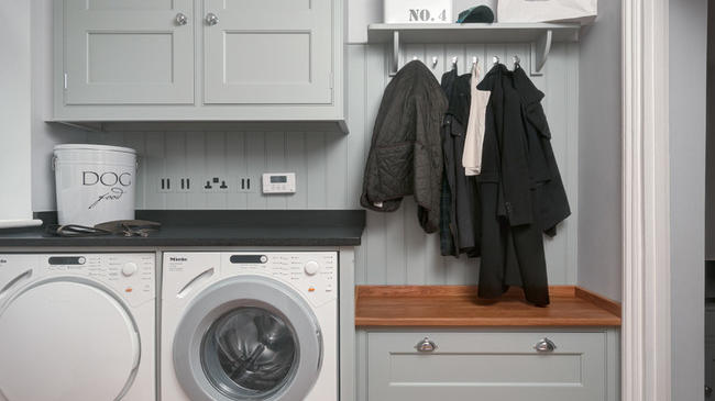 Traditional Utility Room, original photo on Houzz