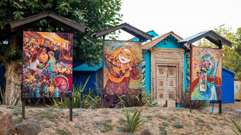 Creative couple transforms Sebastopol ranch house into work of art