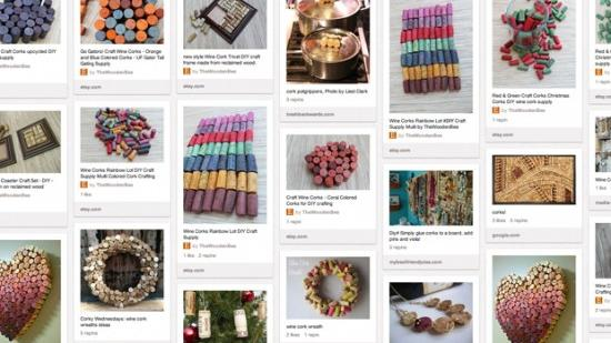 Wine Corks Pinterest board