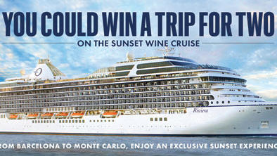 Last Chance to Win a Sunset Wine Cruise!