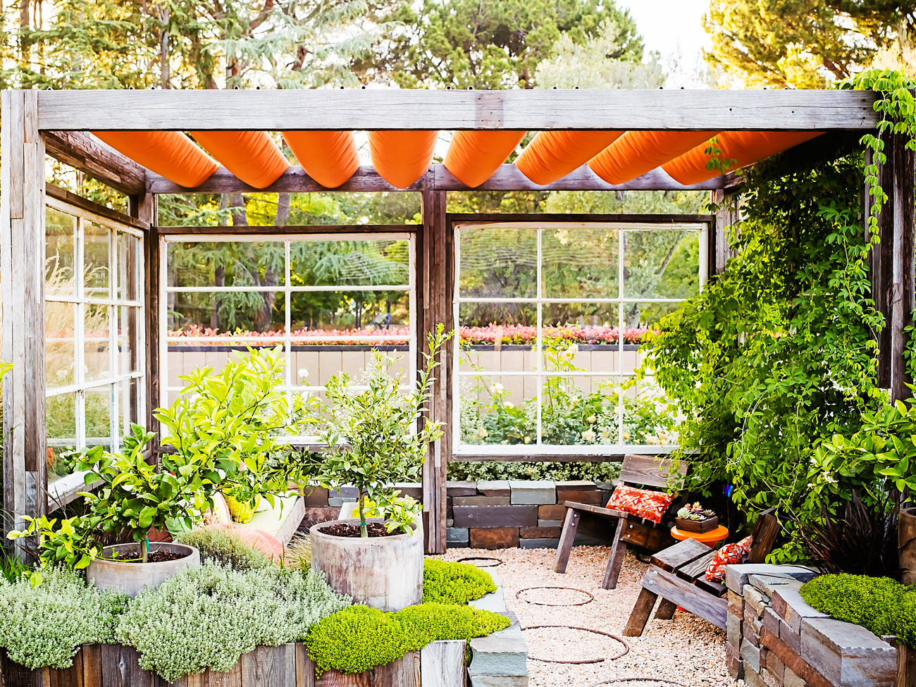 Great Ideas For Outdoor Rooms