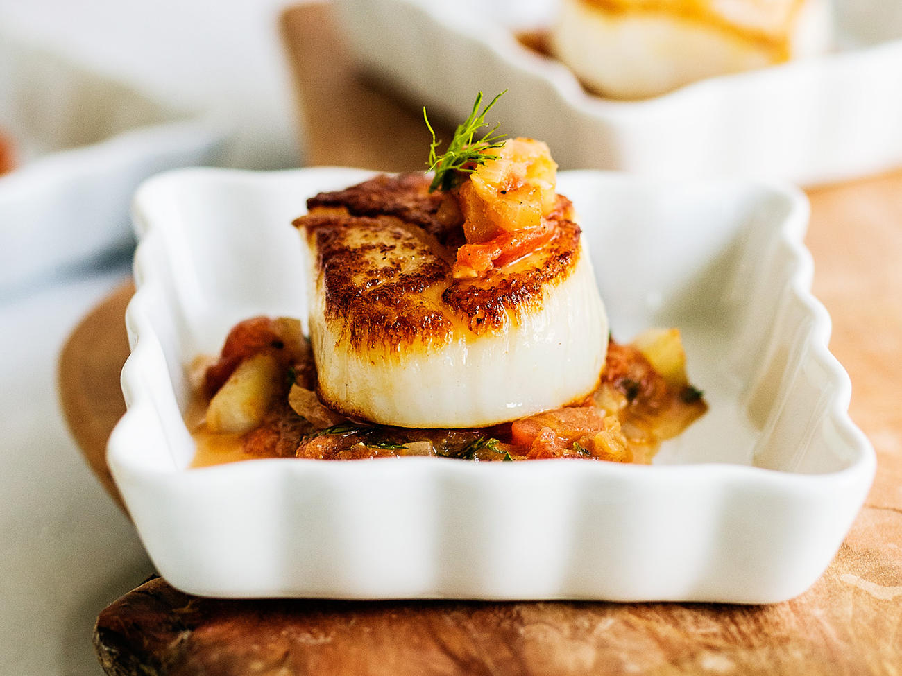 How to Pan-Sear Scallops