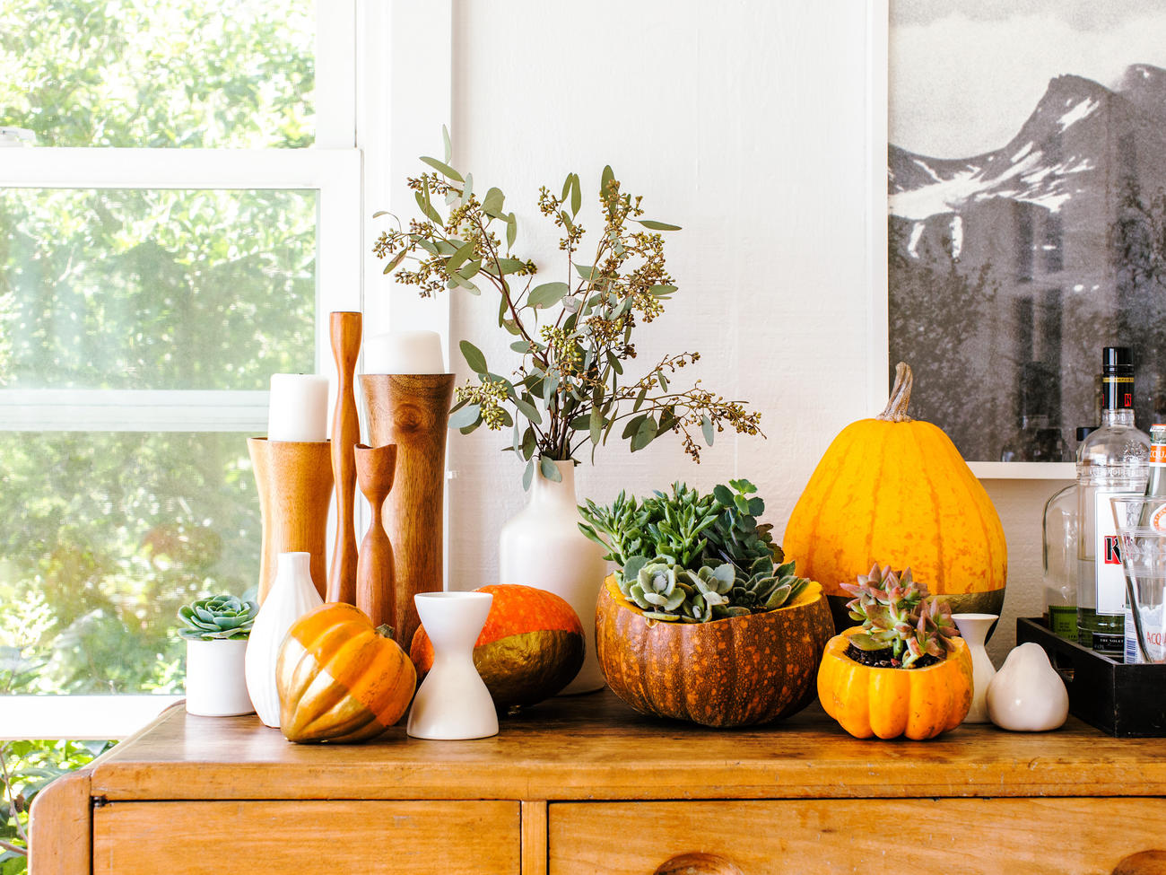 13 Easy Pumpkin Arrangements
