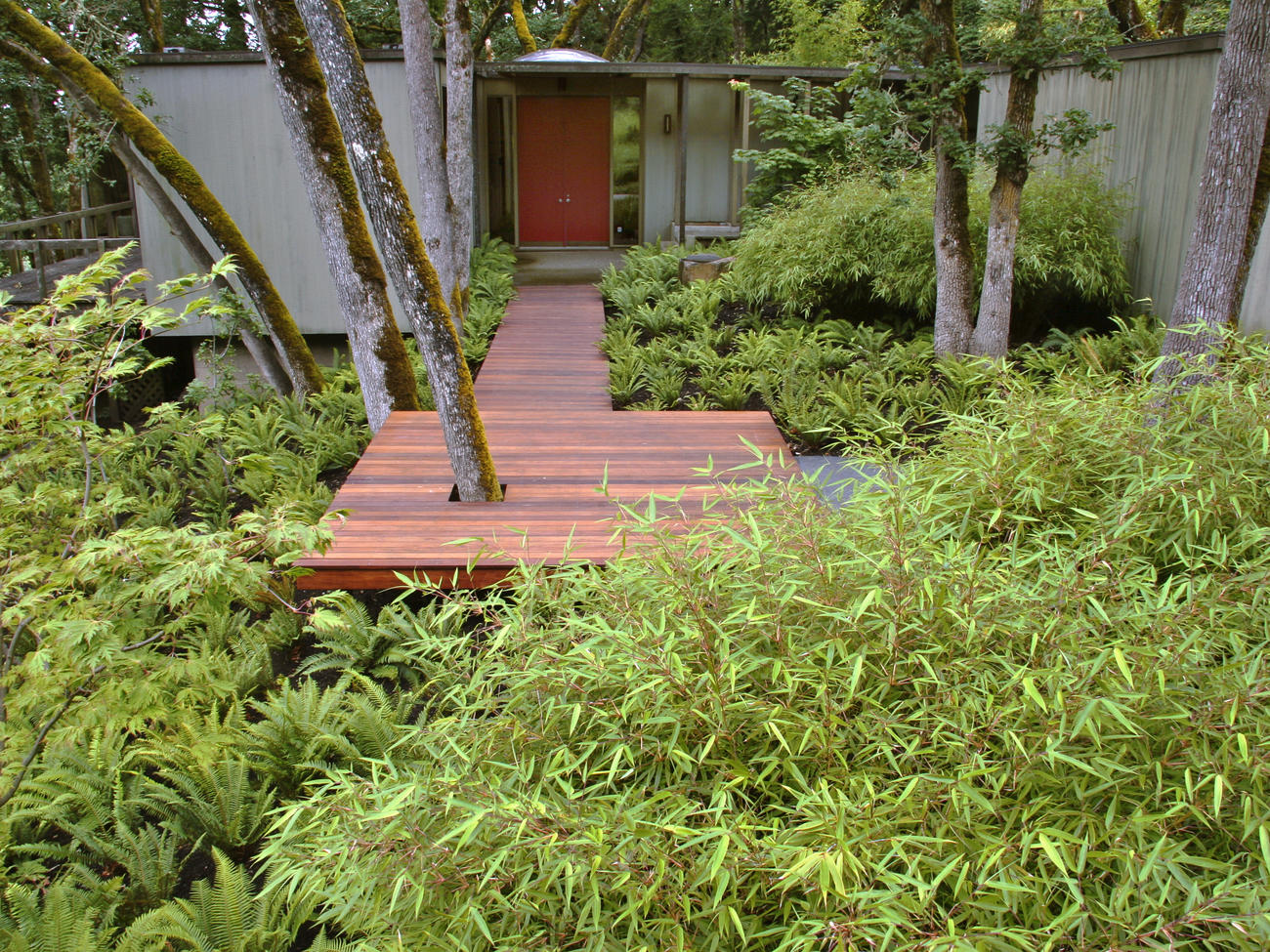 How To Design A Front Yard Boardwalk · Landscaping