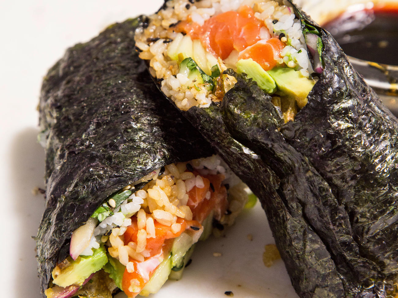 How to Make Sushi Burritos