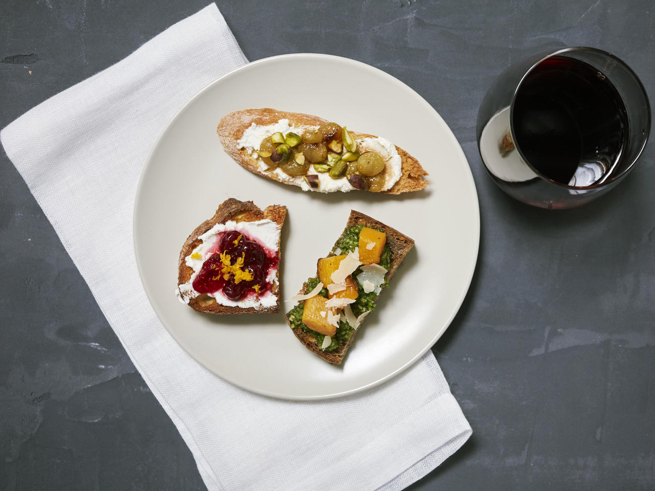3 Ways with Fall Toast