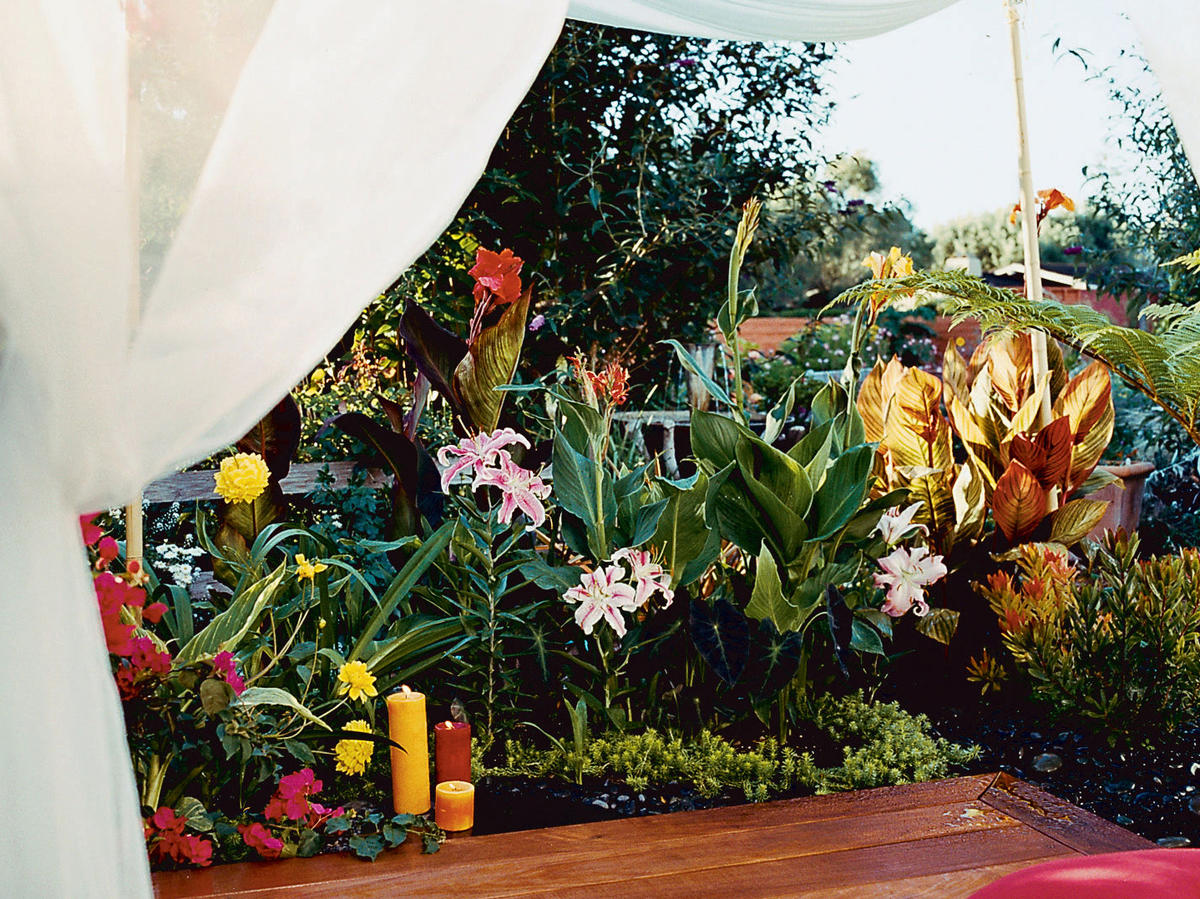 A Billowy Retreat For Your Backyard Sunset Magazine