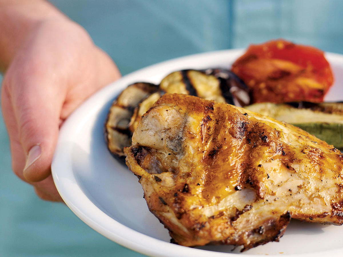 Juicy Grilled Chicken Breasts