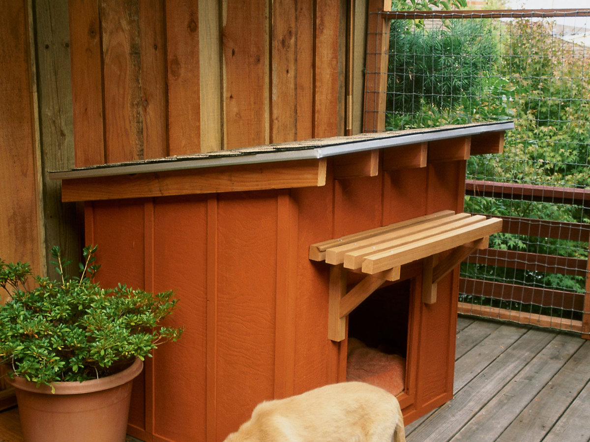 How To Build A Dog House Sunset Magazine