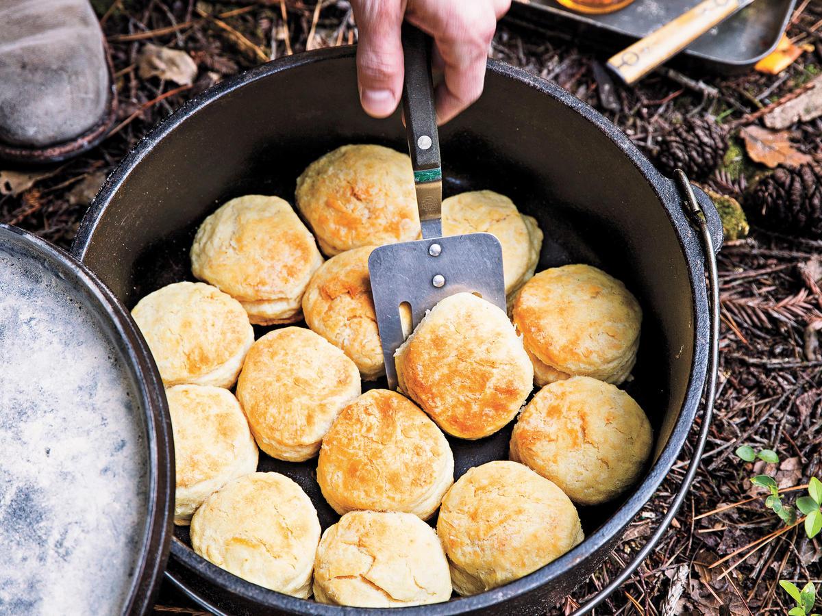 Mark Klever S Dutch Oven Biscuits Recipe Sunset Magazine