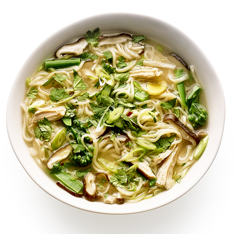 su-Take-Two Turkey Noodle Soup with Ginger and Chile Image