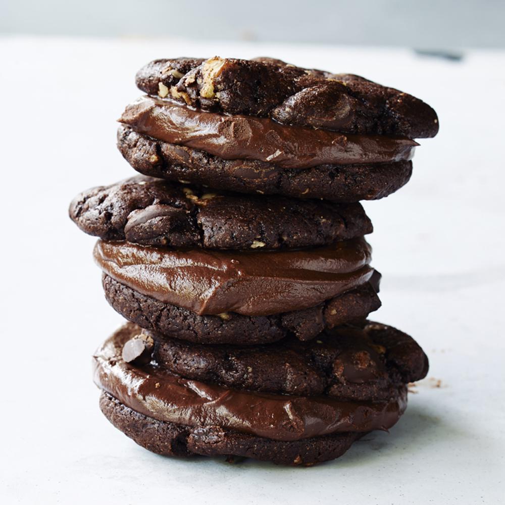 su – Triple-threat Chocolate Cookies