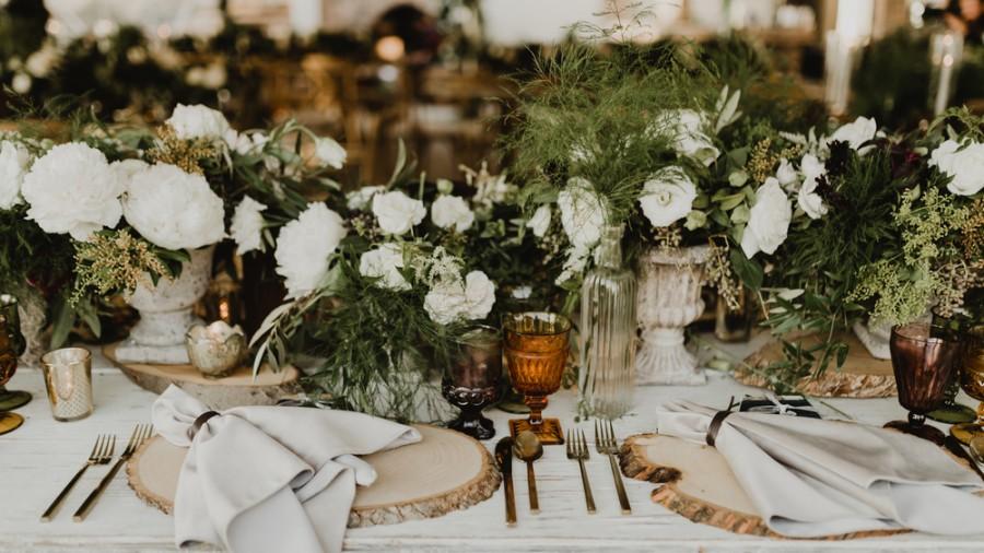 Set a Rustic Table