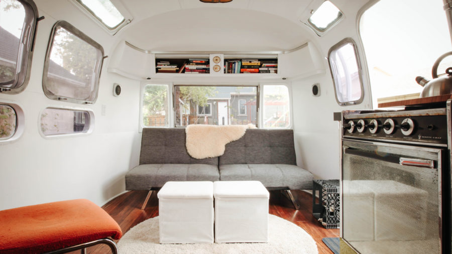 Restored Modern Airstream, Salt Lake City, UT