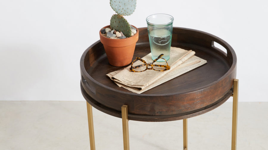 Side Table + Tray